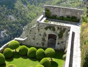 Gardens of the Castle of Gourdon