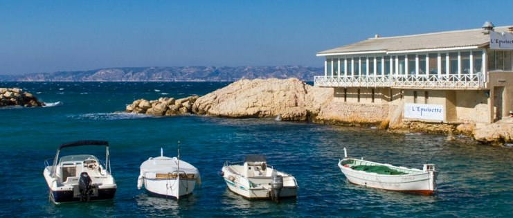 L'Epuisette Marseille with your private tour Provence