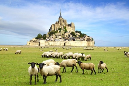 Tour France's Unesco sites